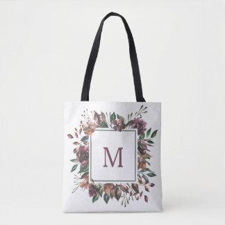 Spiced Botanical | Monogram Tote Bag