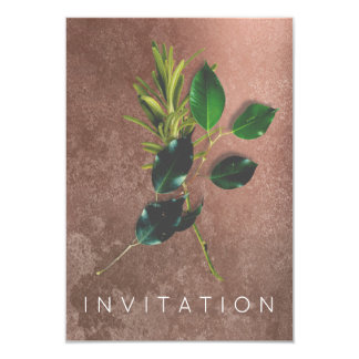 Spices Italian Chef Dinner Greenery Organic Grungy Card