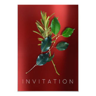 Spices Italian Chef Dinner Greenery Organic Red Card