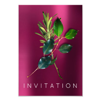 Spices Italian Chef Dinner Greenery Organic Rose Card