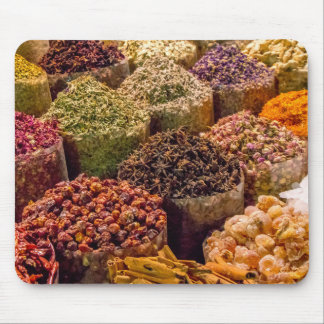 Spices of the Middle East Mousepad