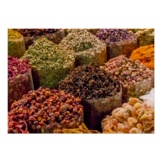 Spices of the Middle East Poster/Print Poster