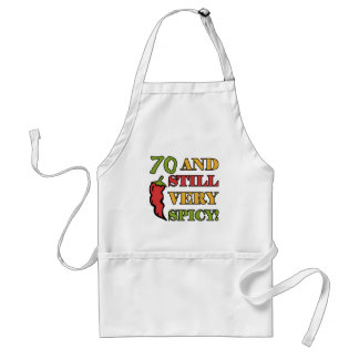 Spicy At 70 Years Old Standard Apron