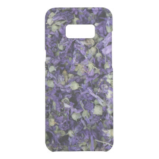 Spicy Floral Photo from Dubai [Purple Pattern 1] Uncommon Samsung Galaxy S8 Plus Case