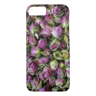 Spicy Floral Photo from Dubai [Purple Pattern 5] iPhone 8/7 Case