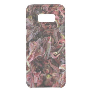 Spicy Floral Photo from Dubai [Red Pattern 6] Uncommon Samsung Galaxy S8 Plus Case