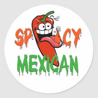 Spicy Mexican HHM Stickers