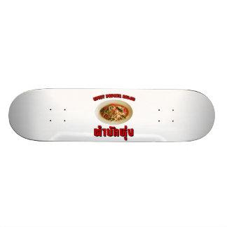 Spicy Papaya Salad Tam Mak Hung Isaan Dialect Skateboard