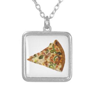Spicy Pizza Slice Custom Necklace