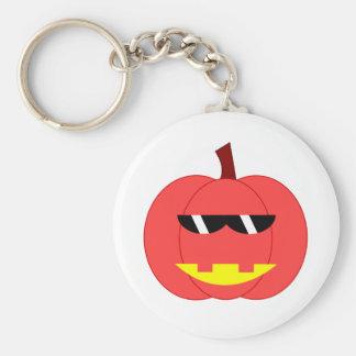Spicy Red Jack-o'-Lantern Key Chain