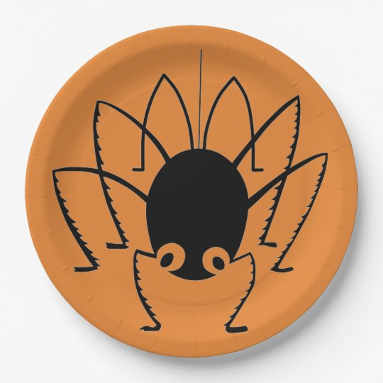 Spider 9 Inch Paper Plate