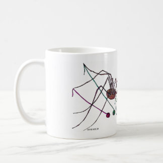 Spider and Yarn mug