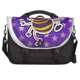 Spider badge laptop bag