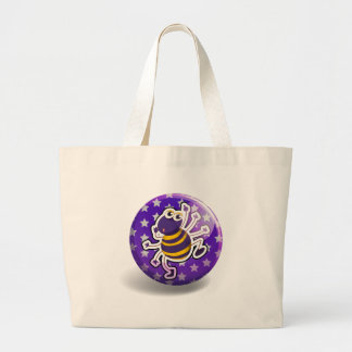 Spider badge jumbo tote bag