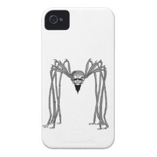 spider . black and white iPhone 4 Case-Mate cases