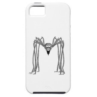 spider . black and white iPhone 5 case