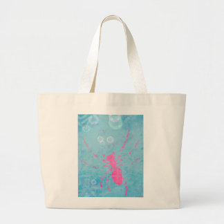 Spider Bubbles Large Tote Bag