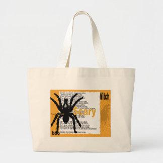 spider-card large tote bag