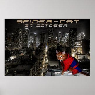 spider-cat poster