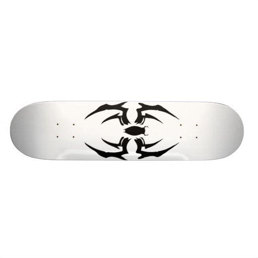 spider deck 01 custom skateboard