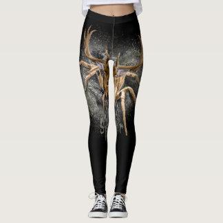 Spider + Deer = Spideer Leggings