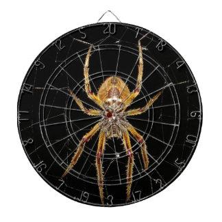 Spider design dartboard