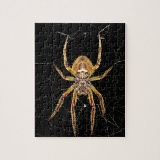 Spider design jigsaw puzzle