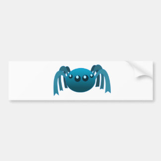 Spider Drawing Bumper Sticker