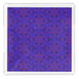 Spider Fangs Bold Blue Perfume Tray