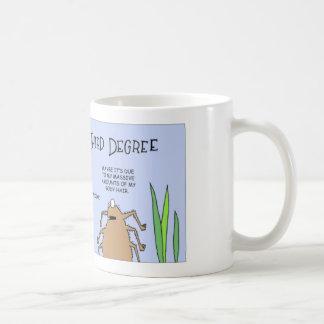 Spider gets third degree coffee mug