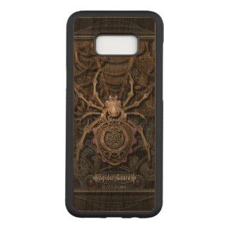 Spider Guard Steampunk. Carved Samsung Galaxy S8+ Case
