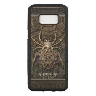 Spider Guard Steampunk. Carved Samsung Galaxy S8 Case