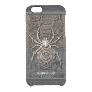Spider Guard Steampunk. Clear iPhone 6/6S Case