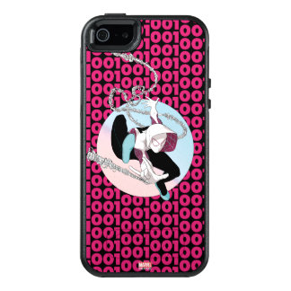 Spider-Gwen Binary Code OtterBox iPhone 5/5s/SE Case