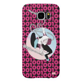 Spider-Gwen Binary Code Samsung Galaxy S6 Cases