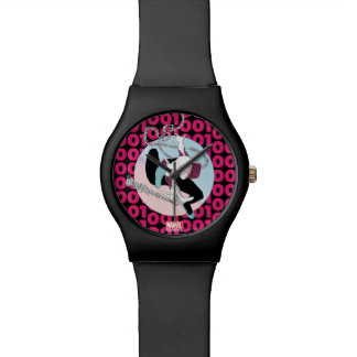 Spider-Gwen Binary Code Watch