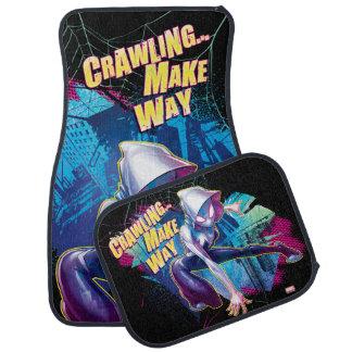 Spider-Gwen: Crawling… Make Way Car Mat