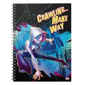 Spider-Gwen: Crawling… Make Way Notebook