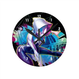 Spider-Gwen: Crawling… Make Way Round Clock