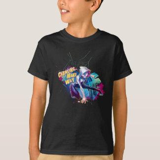 Spider-Gwen: Crawling… Make Way T-Shirt