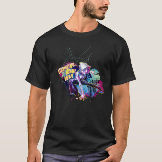 Spider-Gwen: Crawling… Make Way T-Shirt