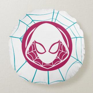 Spider-Gwen Icon Round Cushion
