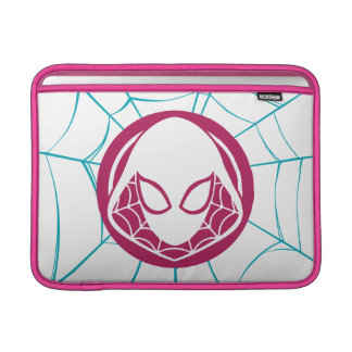 Spider-Gwen Icon Sleeve For MacBook Air