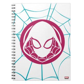 Spider-Gwen Icon Spiral Notebook