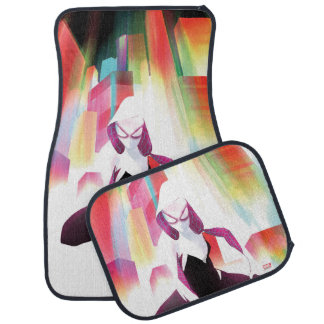 Spider-Gwen Neon City Car Mat