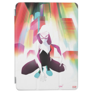 Spider-Gwen Neon City iPad Air Cover