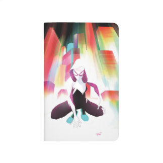 Spider-Gwen Neon City Journal