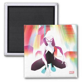 Spider-Gwen Neon City Magnet