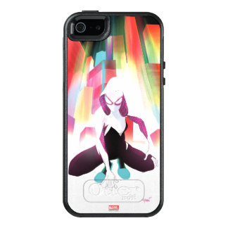 Spider-Gwen Neon City OtterBox iPhone 5/5s/SE Case