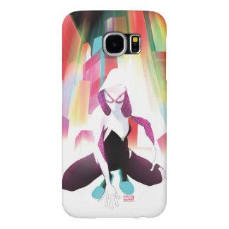 Spider-Gwen Neon City Samsung Galaxy S6 Cases